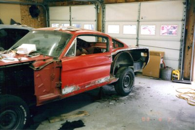 1965 ford mustang 2+2 fastback restoration photo 2 400 1965 Mustang Fastback 2+2