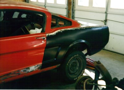 1965 ford mustang 2+2 fastback restoration photo 6 400 1965 Mustang Fastback 2+2