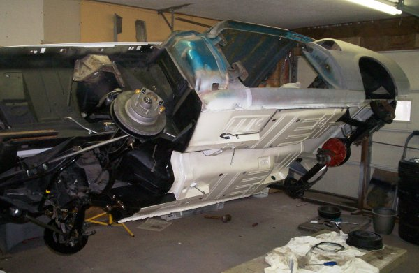 1969 Mustang Restoration Picture Maine Mustang