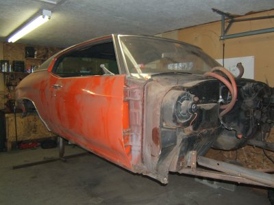 1971 Chevy Chevelle Restoration