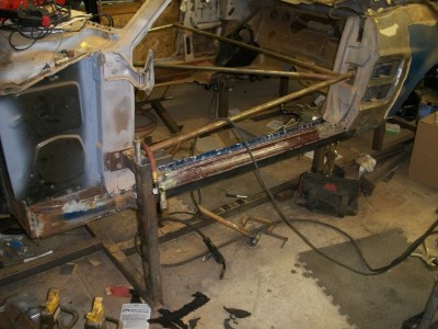 1967 mustang rocker replaement