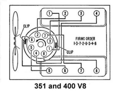 65 66 Mustang Tune Up Info on pontiac firing order diagram